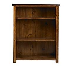 Debenhams - Acacia 'Elba' small bookcase