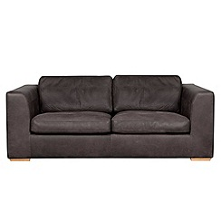 Debenhams - Large leather 'Paris' sofa