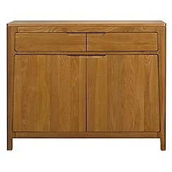 Debenhams - Oak 'Nord' small sideboard