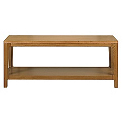 Debenhams - Oak 'Nord' coffee table
