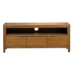 Debenhams - Oak 'Nord' TV unit