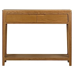 Debenhams - Oak 'Nord' console table