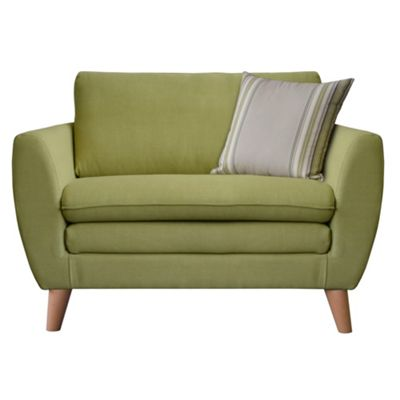 Green Hove snuggler chair