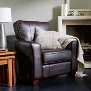 'Roma' bonded leather chair