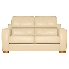 Debenhams - Medium leather 'Berber' sofa