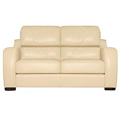 Debenhams - Medium leather 'Berber' sofa