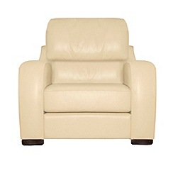 Debenhams - Leather 'Berber' armchair