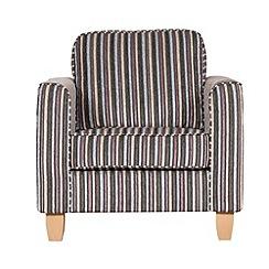 Debenhams - Striped 'Dante' armchair