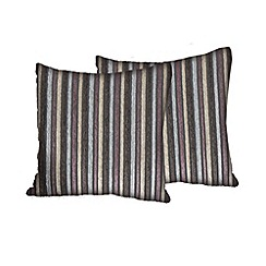 Debenhams - Fabric 'Dante' scatter cushion pair
