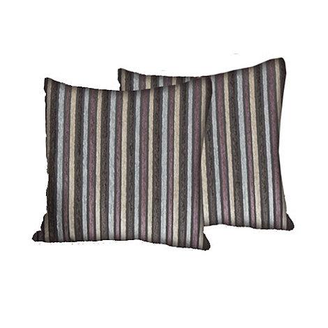 Debenhams - Fabric +Dante+ scatter cushion pair