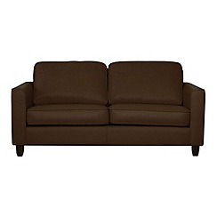 Debenhams - Large leather 'Dante' sofa