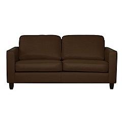 Debenhams - Large leather 'Dante' sofa