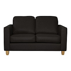 Debenhams - Small leather 'Dante' sofa