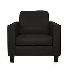 Debenhams - Leather 'Dante' armchair