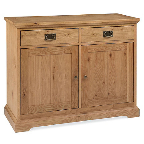 Debenhams - Oak +Provence+ small sideboard
