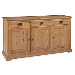 Debenhams - Oak 'Provence' large sideboard