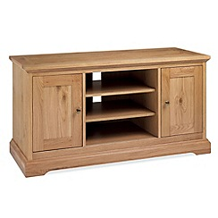 Debenhams - Oak 'Provence' TV unit