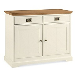 Debenhams - Oak and painted 'Provence' sideboard