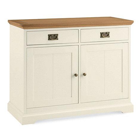 Debenhams - Oak and painted +Provence+ sideboard