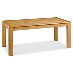 Debenhams - Oak 'Lyon' medium extending table