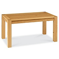 Debenhams - Oak 'Lyon' fixed-top table