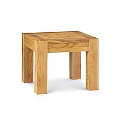 Debenhams - Oak 'Lyon' side table