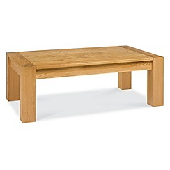 Debenhams - Oak 'Lyon' coffee table