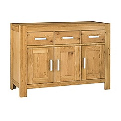 Debenhams - Oak 'Lyon' sideboard