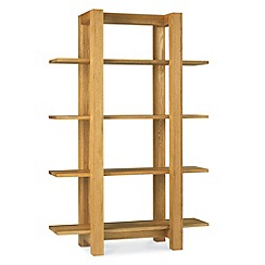 Debenhams - Oak 'Lyon' open shelving unit