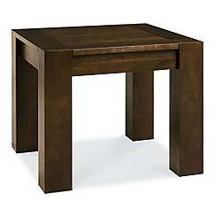 Debenhams - Walnut 'Lyon' side table