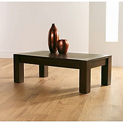 Debenhams - Walnut 'Lyon' coffee table