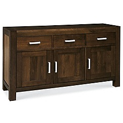 Debenhams - Walnut 'Lyon' large sideboard