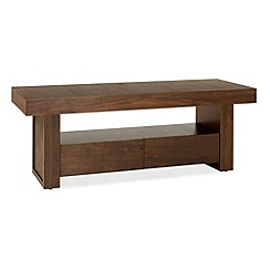 Debenhams - Walnut 'Akita' TV unit