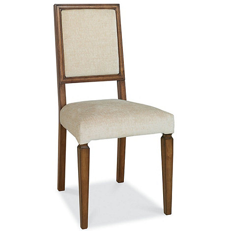 Debenhams - Pair of oak finished +Sophia+ dining chairs