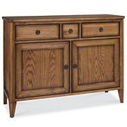 Oak 'Sophia' narrow sideboard