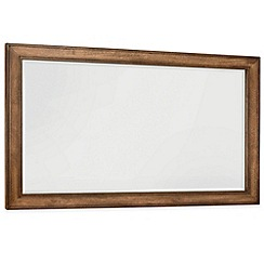 Debenhams - Oak finished 'Sophia' wall mirror
