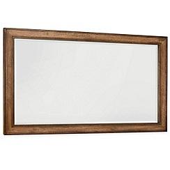 Debenhams - Oak finished 'Sophia' wall mirror