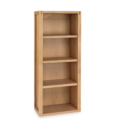 Oak Studio Narrow Top Shelving Unit At Housecharm Price List