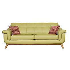 Debenhams - Large leather 'Kandinsky' sofa