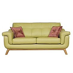 Debenhams - Medium leather 'Kandinsky' sofa