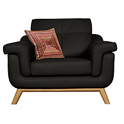 Debenhams - Leather 'Kandinsky' armchair