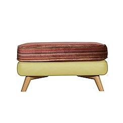 Debenhams - Leather 'Kandinsky' footstool