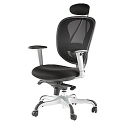 Alphason - Black 'Blade' mesh office chair