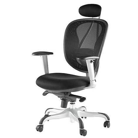 Alphason - Black +Blade+ mesh office chair