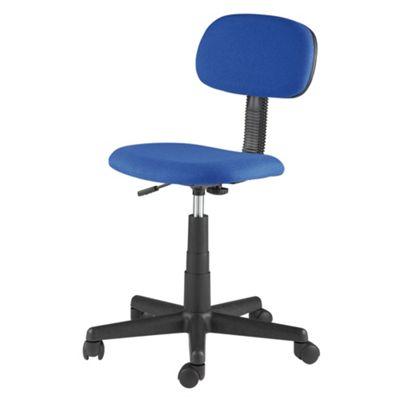 Alphason Blue Austin fabric office chair