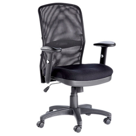 Alphason - Black +Dakota+ office chair