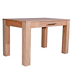 Alphason - Oak 'Oakwood 1200' desk