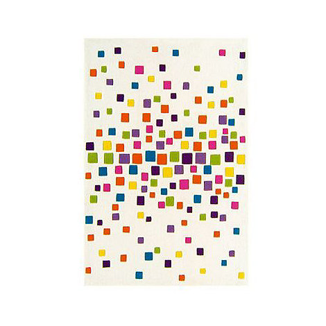 Debenhams - Multi-coloured 'Harlequin Space Dust' rug