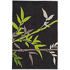 Debenhams - Green 'Harlequin Bamboo' rug