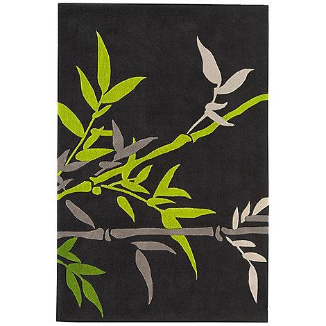 Debenhams - Green +Harlequin Bamboo+ rug